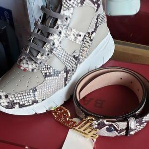 Ballys + belt